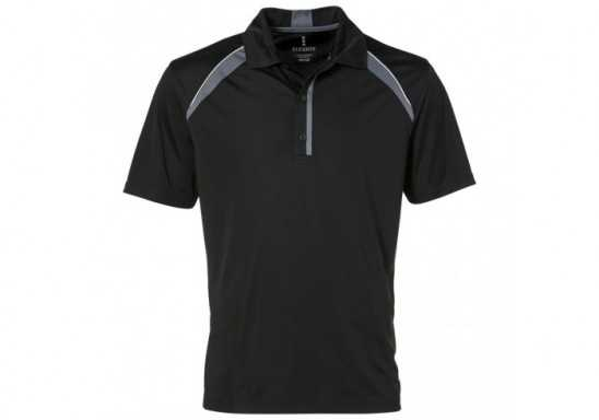 Elevate Quinn Mens Golf Shirt - Black