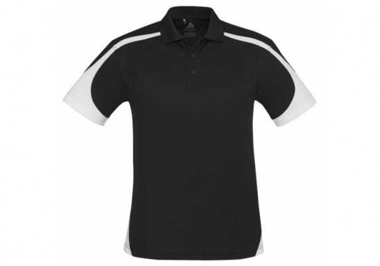 Talon Mens Golf Shirt - Black