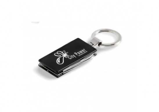 Trench Keyholder - Black