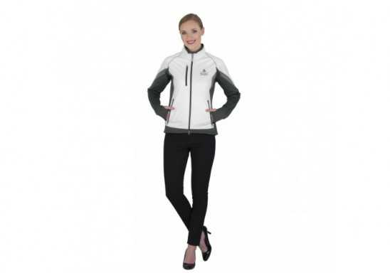 Elevate Jozani Ladies Hybrid Softshell Jacket - Black