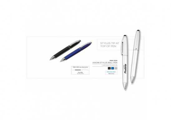 Axiom Stylus Ball Pen