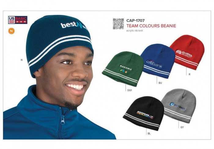 Team Colours Beanie