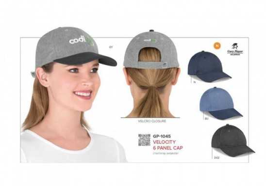 Gary Player Velocity 6 Panel Cap