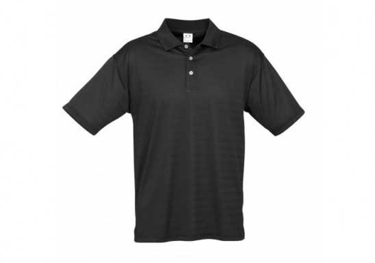 Icon Mens Golf Shirt - Black