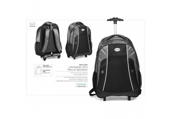 Centennial Tech Trolley Backpack