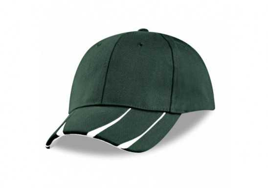 US Basic Steeldale 6 Panel Cap - Green