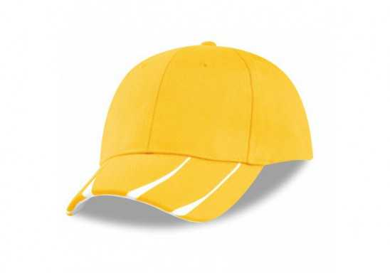 US Basic Steeldale 6 Panel Cap - Yellow