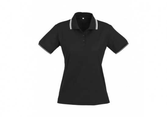 Cambridge Ladies Golf Shirt - Black