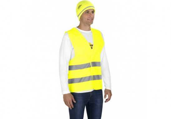 Safety First Beanie - Yellow