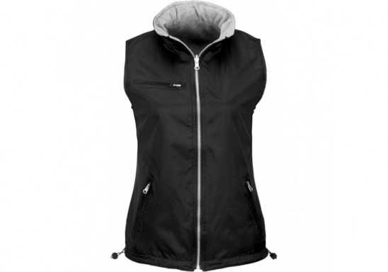 Slazenger Ladies Reversible Fusion Bodywarmer - Black
