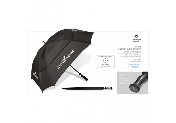 Gary Player Square Golf Umbrella