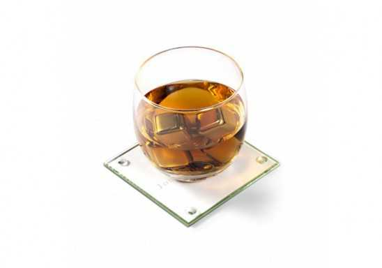 Encore Coaster Set (Set Of 2 Glass Coasters)