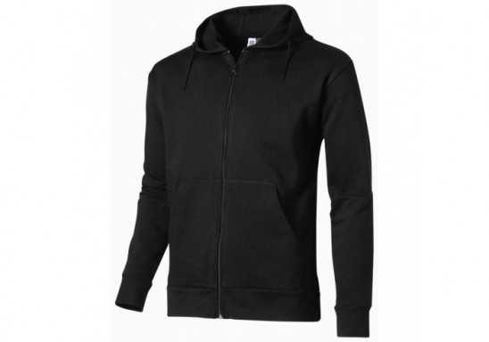 US Basic Bravo Mens Hooded Sweater - Black