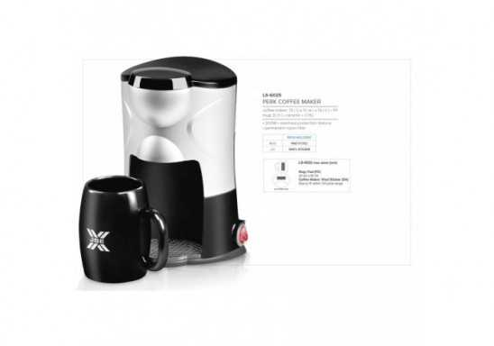 Perk Coffee Maker