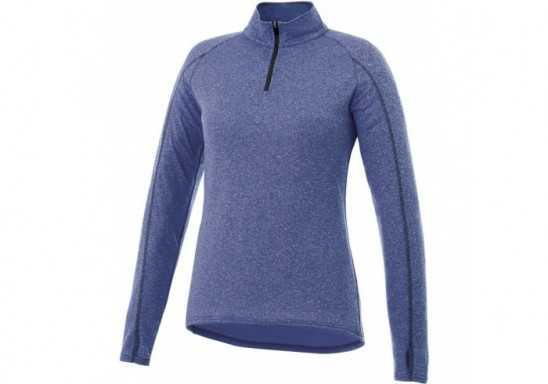 Ladies Taza 1/4 Zip Sweater - Blue