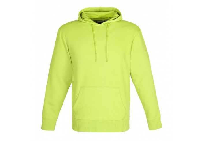 US Basic Mens Omega Hooded Sweater - Lime