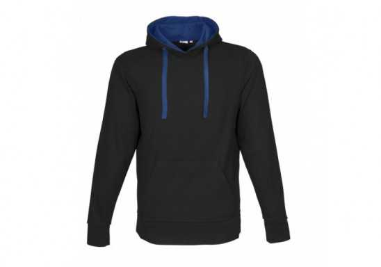 US Basic Mens Solo Hooded Sweater - Blue