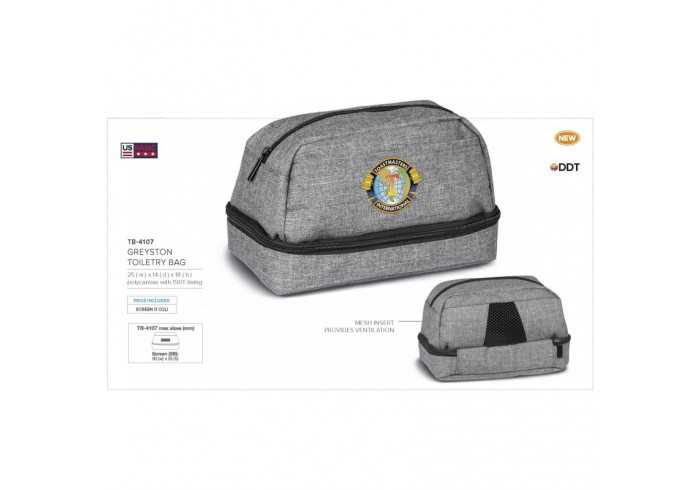 Greyston Toiletry Bag - Grey