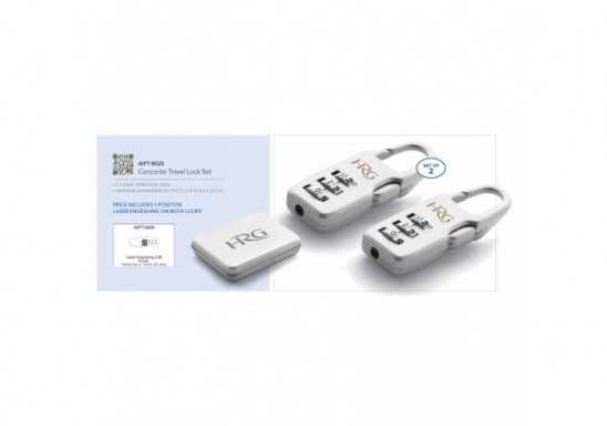 Concorde Travel Lock Set