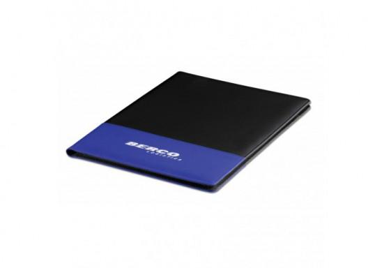 Stripez A4 Folder - Blue