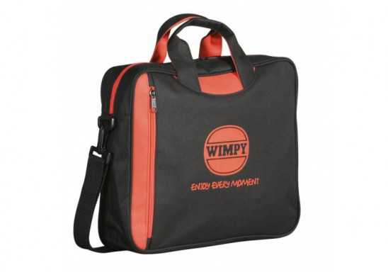 Graffiti Conference Bag - Black