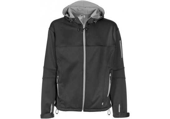 Slazenger Catalyst Mens Softshell Jacket - Black