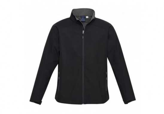 Geneva Mens Softshell Jacket - Black
