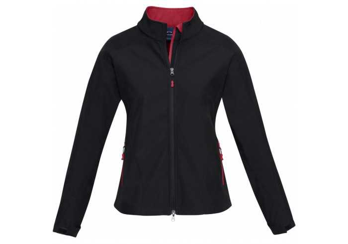 Geneva Ladies Softshell Jacket - Red