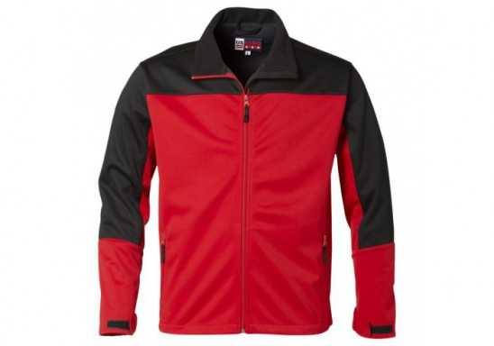 US Basic Attica Mens Softshell Jacket - Red