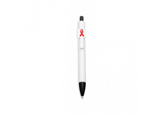World Aids Day Emblem Pen