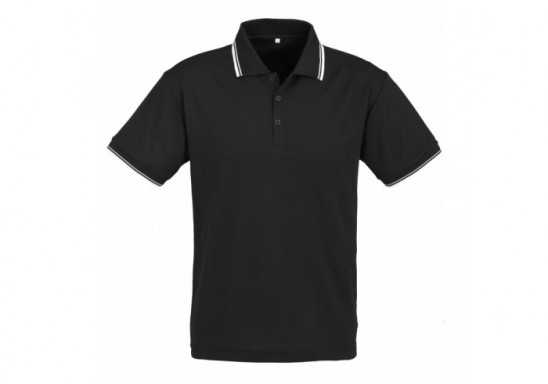 Cambridge Mens Golf Shirt - Black