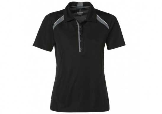 Elevate Quinn Ladies Golf Shirt - Black