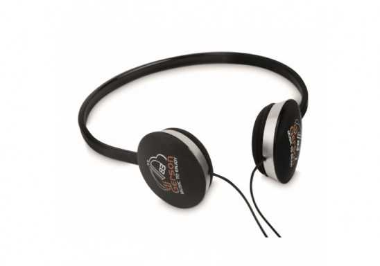 Tempo Headphones - Black