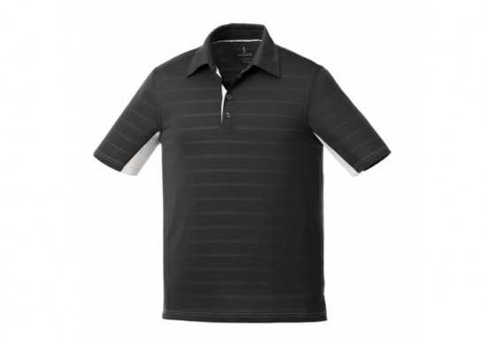 Elevate Prescott Mens Golf Shirt - Black