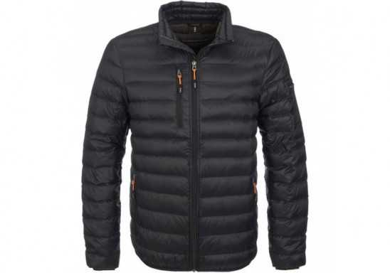 Elevate Scotia Mens Light Down Jacket - Black