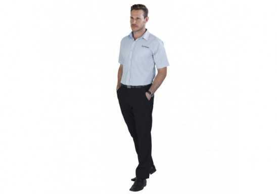 US Basic Mens Short Sleeve Kensington Shirt