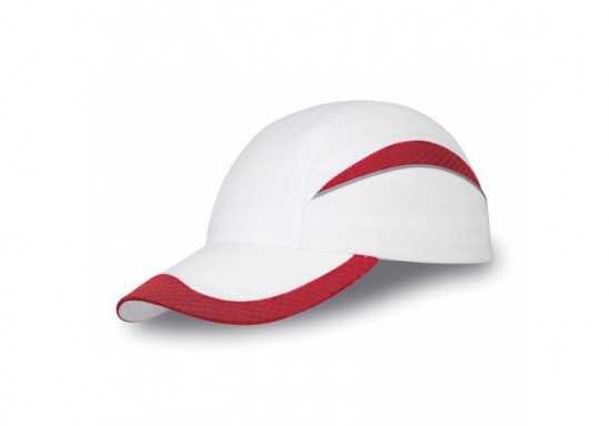 Slazenger Mesh Edge 6 Panel Cap - Red