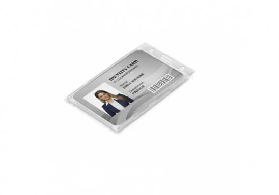 Identity Card Holder - White