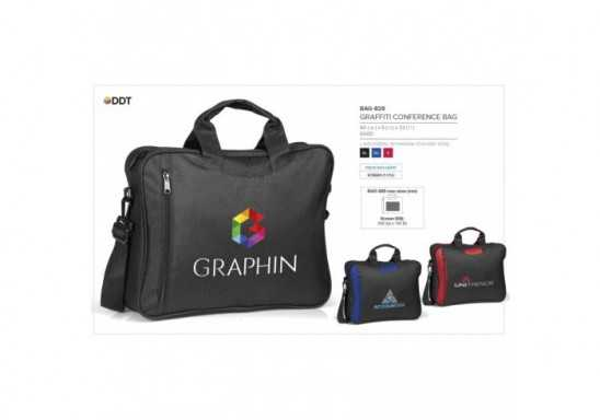 Graffiti Conference Bag