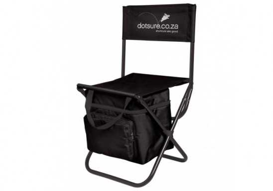 Capri Chair & Cooler - Black