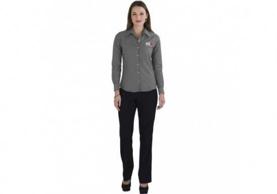 US Basic Aspen Ladies Long Sleeve Shirt