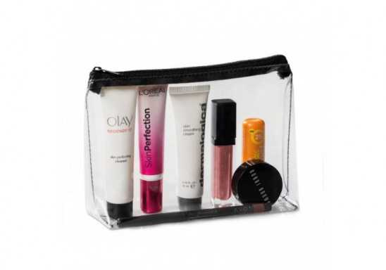 Chloe Cosmetic Bag - Black