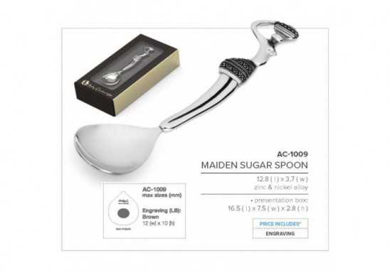 Maiden Sugar Spoon