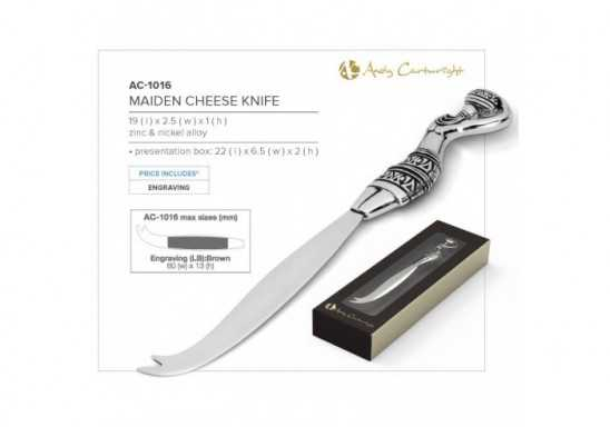 Maiden Cheese Knife