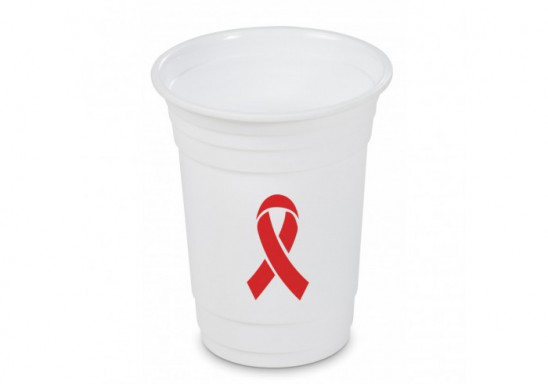 World Aids Day Party Cup