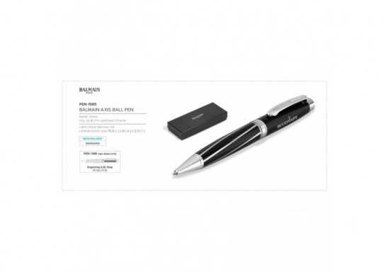 Balmain Axis Ball Pen