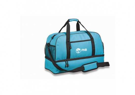 Maine Double-Decker Bag - Turquoise Only