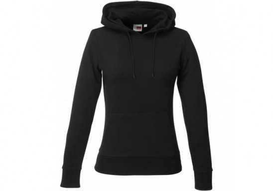 US Basic Ladies Omega Hooded Sweater - Black