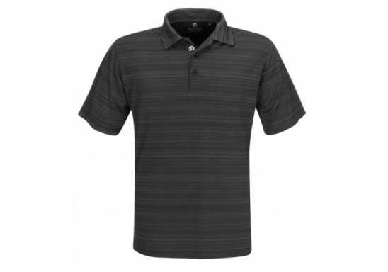 Mens Astoria Golf Shirt - Black