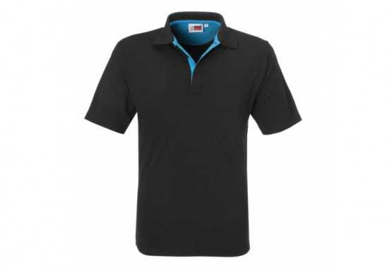 Mens Solo Golf Shirt - Aqua